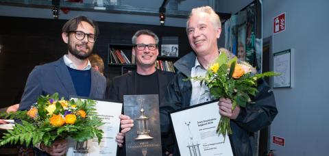 Prisutdelning Årets Stockholmsbyggnad 2016