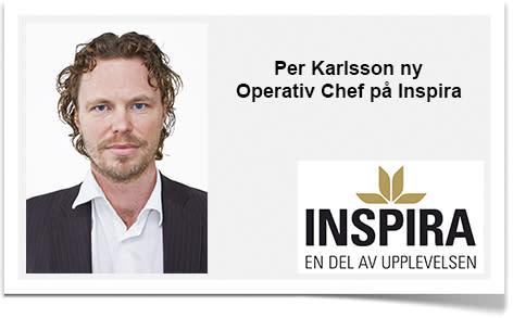 Per Karlsson ny Operativ Chef på Inspira