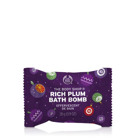 BATH BOMB RICH PLUM