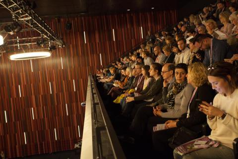 Publik på läktaren i High Live 1, 2016
