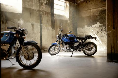 BMW Motorrad juhlii 50-vuotista /5-sarjaa upouudella BMW R nineT /5 -mallilla