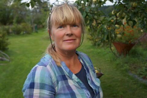 Lise-Lotte Björkman, trädgårdsrådgivare Riksförbundet Svensk Trädgård
