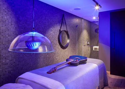 Rhythm & Motion Treatment Room im Hard Rock Hotel Davos