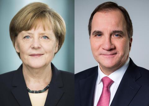 Angela Merkel und Stefan Löfven eröffnen German Swedish Tech Forum
