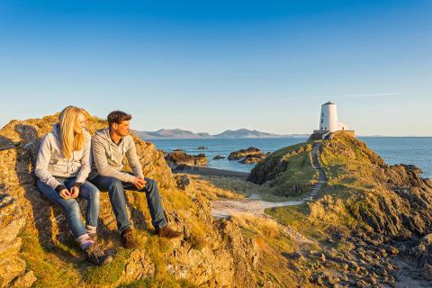 Anglesey Llanddwyn Island