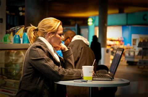 Gratis nett for studenter og universitetsansatte på 19 flyplasser