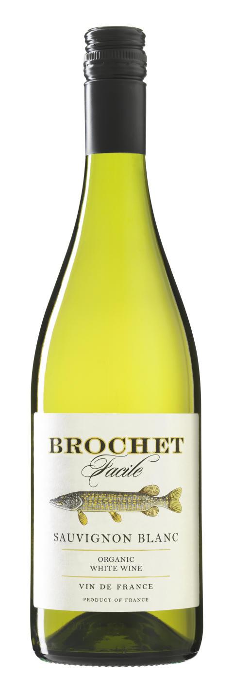 Det ultimata fiskvinet i ny årgång - Brochet Facile Sauvignon Blanc 2013