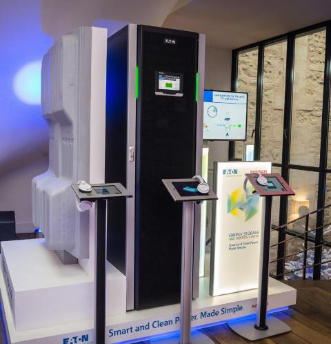 Eaton og Nissan går sammen om at udvikle systemer til energilagring og -styring