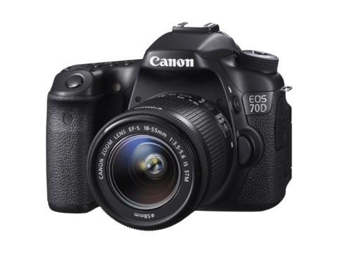 Canon EOS 70D - en nyhet med fokus på det vitala
