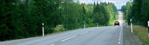 Bilkörandet minskar i storstaden men ökar på landsbygden