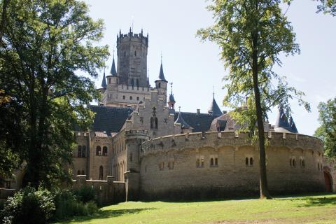 Et blik på Schloss Marienburg