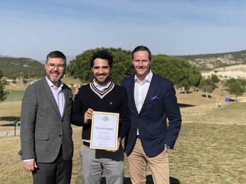 Europas bästa golfbanor har korats