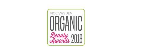 Alla nomineringar klara i Organic Beauty Awards 2018
