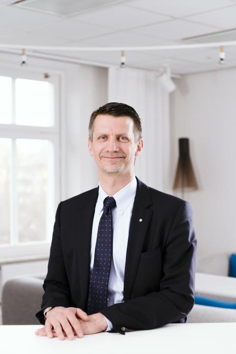 Urban Englund, styrelseordförande i Praktikertjänst. Leg Tandläkare.