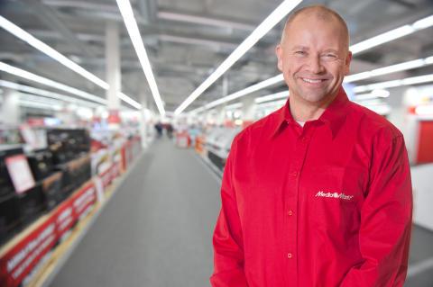 Media Markt välkomnar Fredrik Hallstensson som ny varuhuschef i Birsta!
