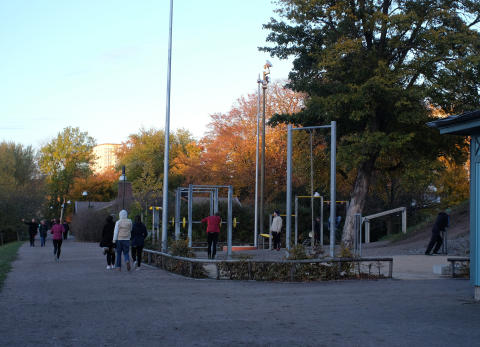 Utegym, Pildammsparken i Malmö