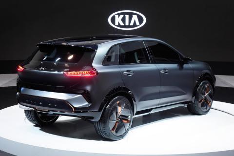 Kia Motors presenterer visjon for fremtidig mobilitet på CES 2018.