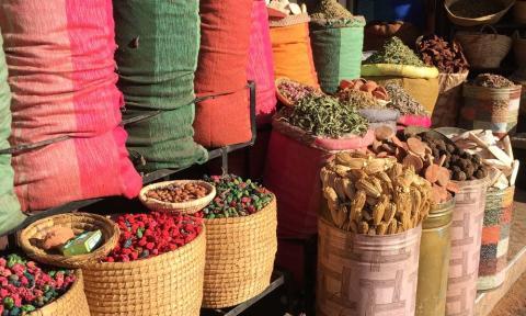 Moroccan Souk_NOSADE Yoga Retreats Marrakech
