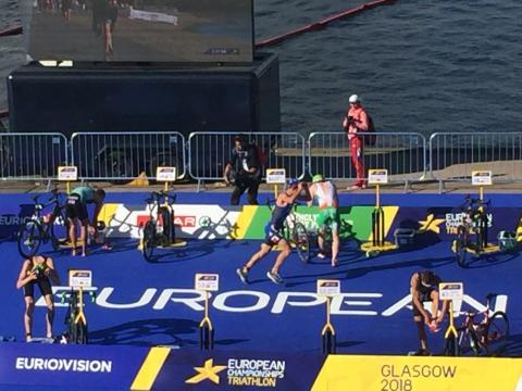 Jørgen Gundersen viste styrke på svømming og sykling, så raknet det på løpingen