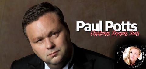 Paul Potts till Malmö - Enda Sverigekonserten