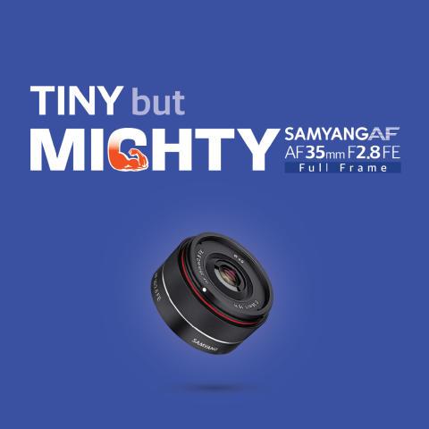 Nytt autofokusobjektiv fra Samyang for Sonys E-fatning