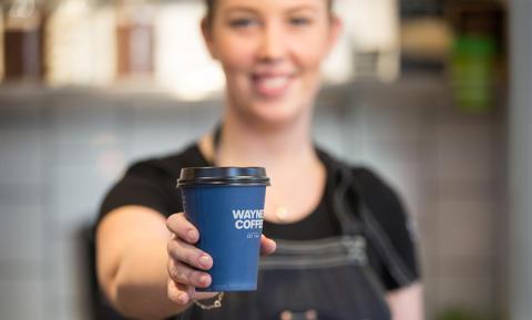 Wayne´s Coffee i samarbete med Coop