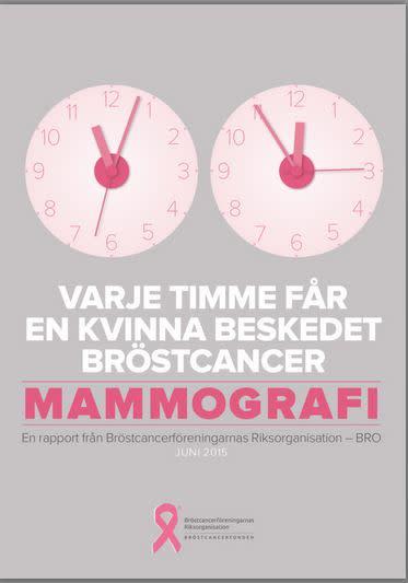 Gratis mammografi - ett steg mot jämlik bröstcancervård
