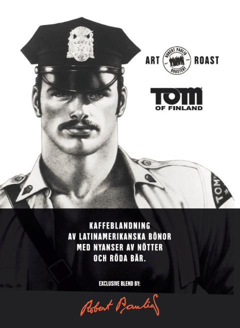 Heavy Duty: Tom of Finland-kaffe från Robert Paulig Roastery intar Mälarpaviljongen