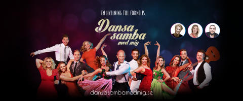 Annika Sjöö och Fredric Brunberg blir nya dansare för showen Dansa samba med mig - En hyllning till Cornelis