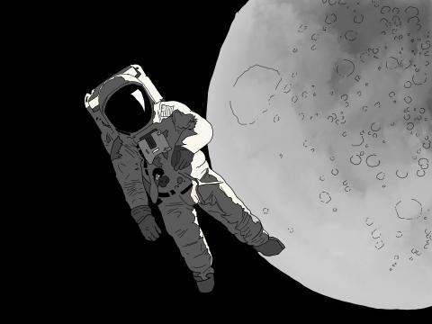 7 herramientas abandonadas por astronautas en la Luna