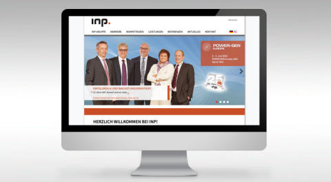 Informationstiefe im Fokus: INP International Projects relauncht Webauftritt
