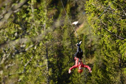 Premiär för Åre Summer Camp - ett sommarkollo med äventyr och friluftsliv
