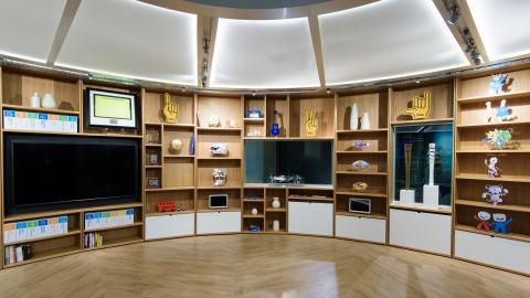 Visa Innovation Center Screen