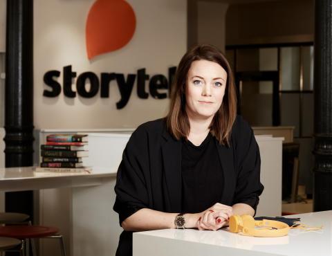 Storytel väljer B-Reel för global varumärkesresa