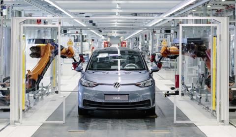 Produktionsstart för Volkswagens nya elbil ID.3 – systemskifte till e-mobilitet