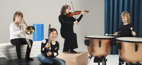 El Sistema Stockholm gör Salieri och Mozart på Folkoperan
