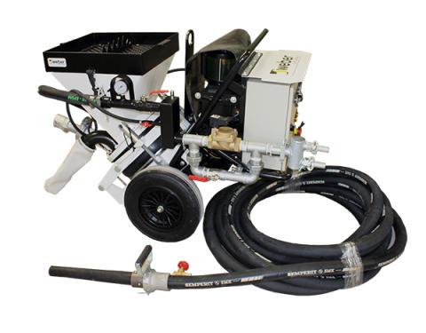 weber TBS 3000- Kompakt torrbetongspruta med hög kapacitet