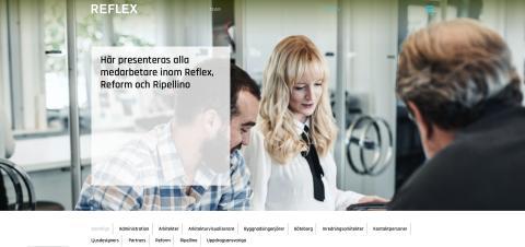 Idag flyttar Ripellino Arkitekters medarbetare in till Reflex.