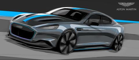 Aston Martin med elbil