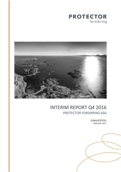 Interim Report Q4 2016