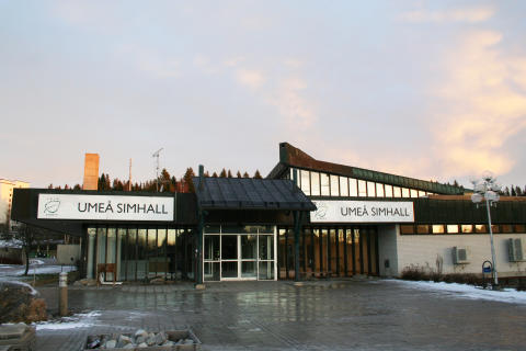 Gamla simhallen på Haga