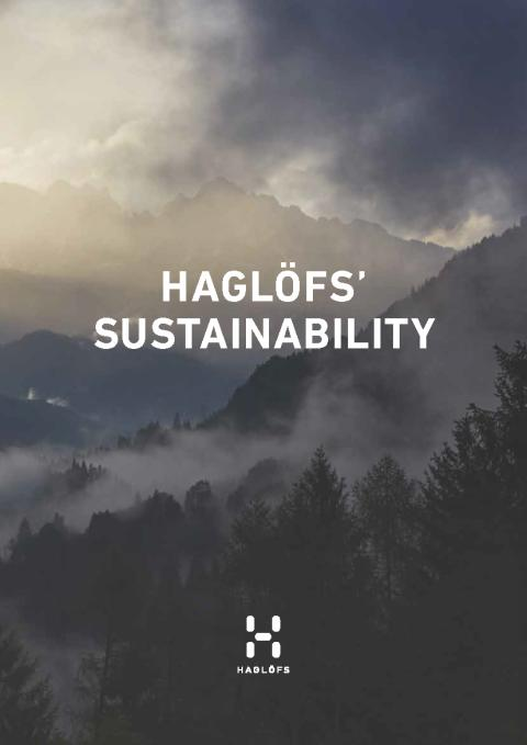 HAGLÖFS' SUSTAINABILITY