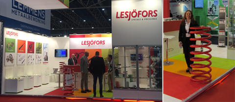 Heavy springs caught attention at Dutch fair ESEF