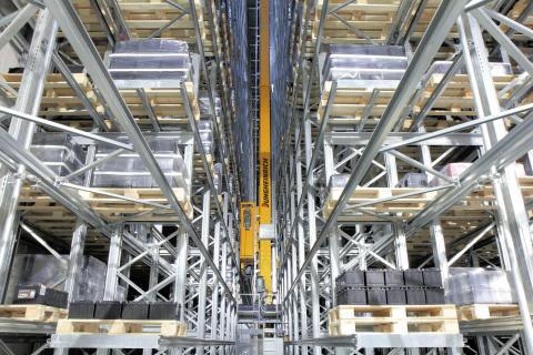 Jungheinrich bygger nytt lager åt Adam Hall Group