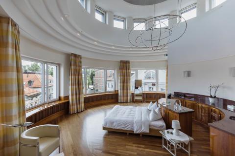Pop-up Hotel St.Gallen innen