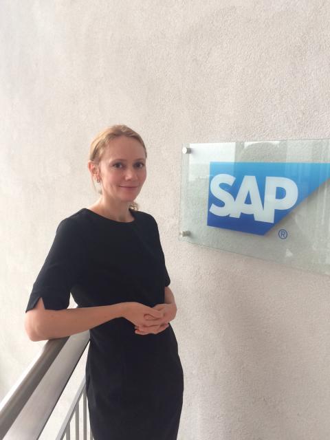 Astrid Thommesen Sæbø er ny økonomisjef i SAP Norge