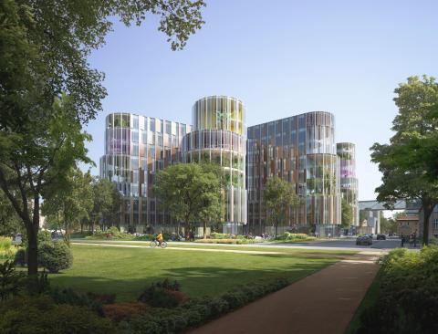 Arkitema ritar lekfullt barnsjukhus i Danmark