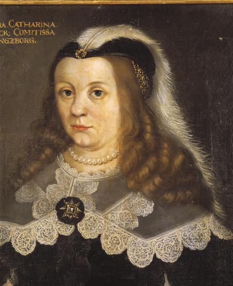 Kristina Katarina Stenbock (1618–1650). Per Brahe den yngres första hustru