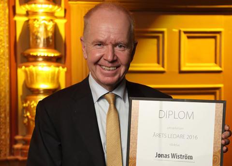 Jonas Wiström is Leader of the year