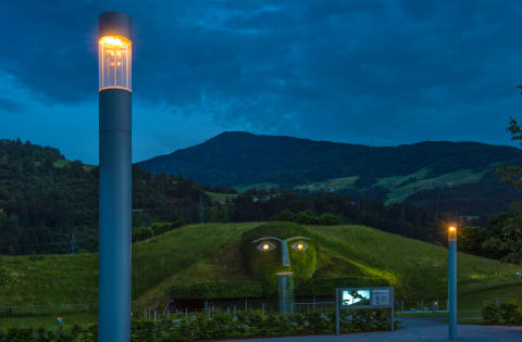 Hess City Element Swarovski Kristallwelten, Österrike